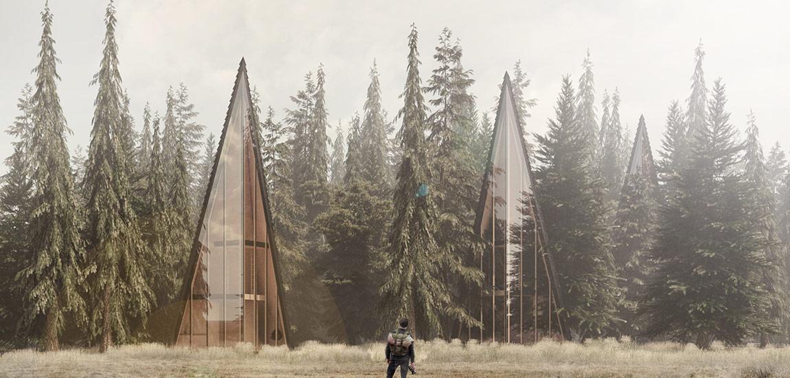 Dyplomy Architektury: Ośrodek agroturystyczny w Teleśnicy Sannej projektu Jakuba Lazarowicza