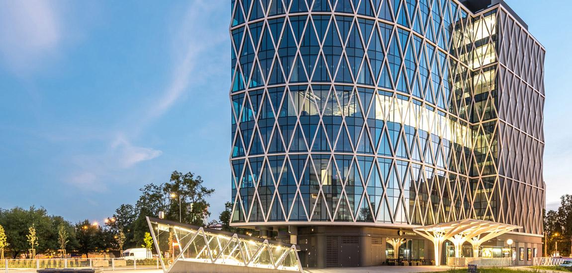 Biurowiec Villa Metro w Warszawie projektu biura DA Dziuba Architekci