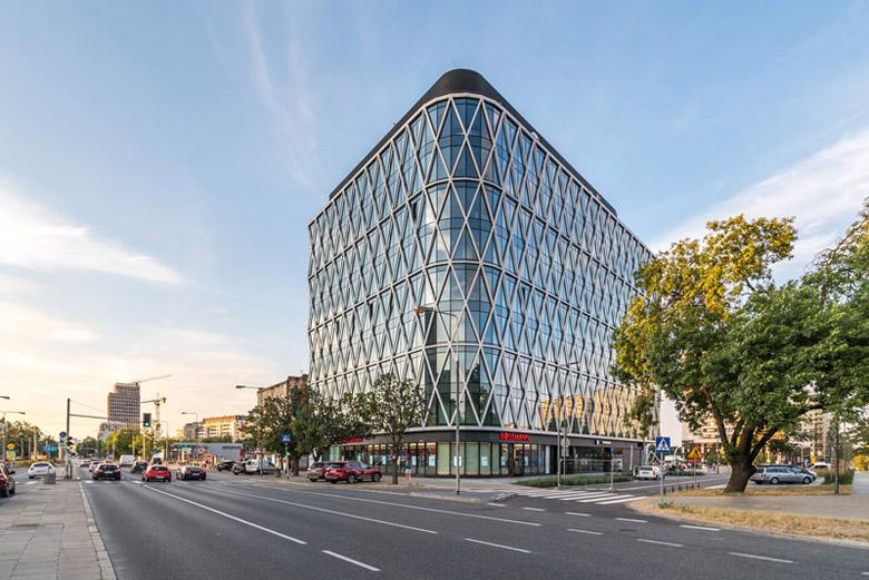 Biurowiec Villa Metro, Warszawa. Projekt: DA Dziuba Architekci
