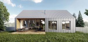 Dom dwuosobowy projektu biura Ktura Architekci