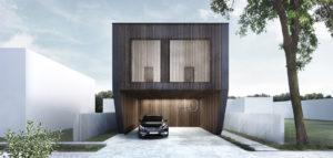 Dom na wąskiej działce pracowni Libido Architekci