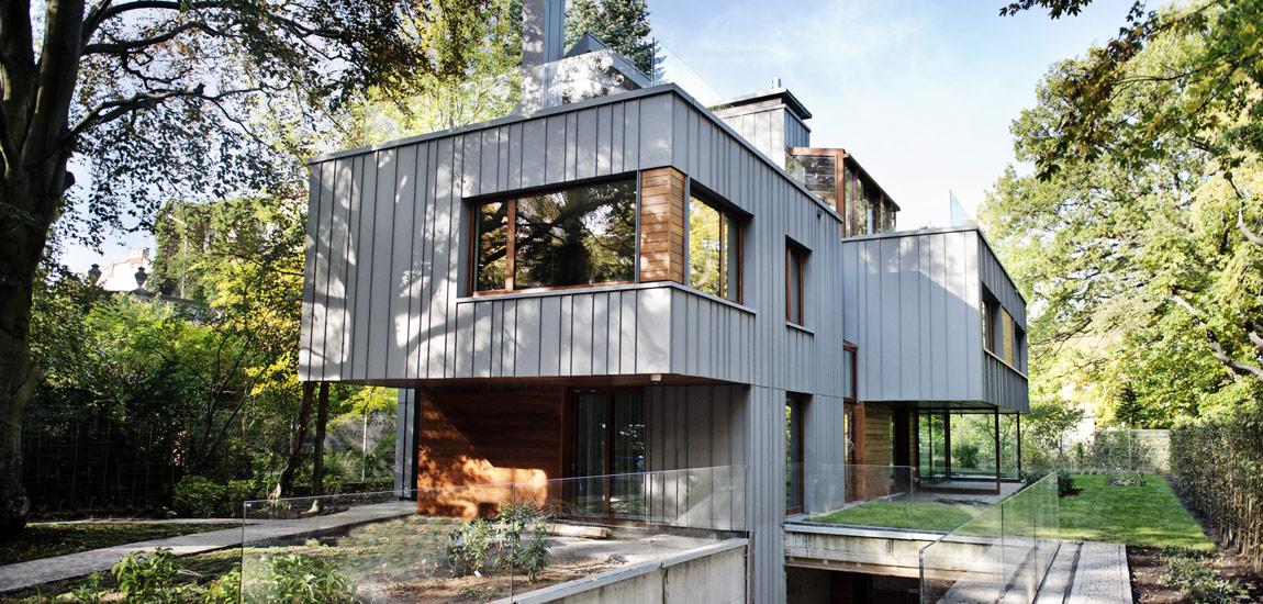 Dom w Sopocie projektu Studia Architektonicznego Kwadrat
