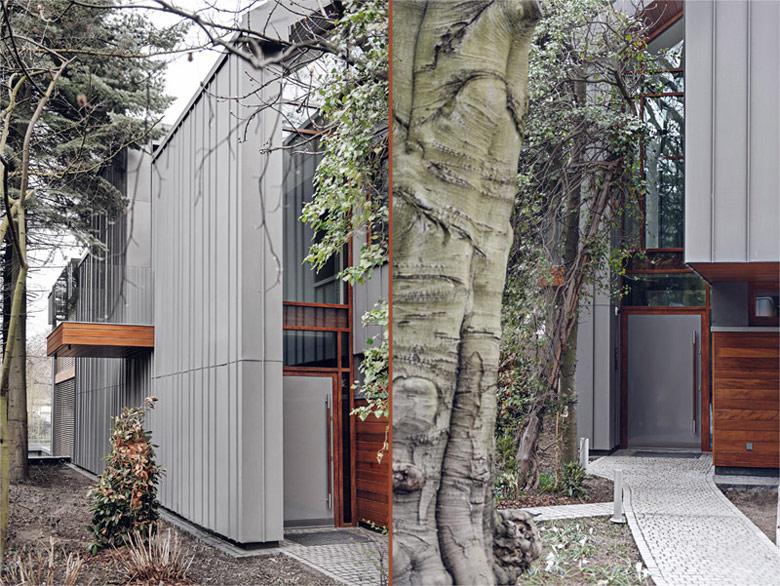 Dom w Sopocie. Projekt: Jacek Droszcz - Studio Architektoniczne Kwadrat