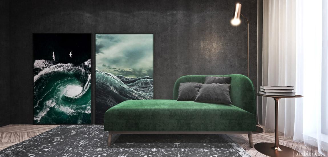 Aparament w Londynie. Projekt wnętrz: Ambience. Interior Design