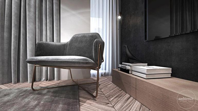 Apartament w Londynie. Projekt wnętrz: Ambience. Interior Design