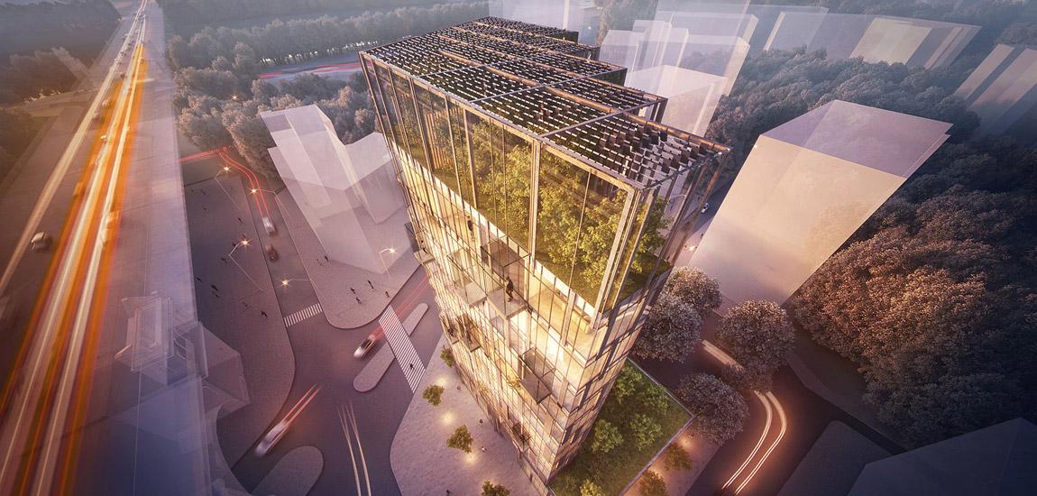 Nagroda PLGBC Green Building Awards 2018 dla Eco Warsaw Tower projektu BXBstudio