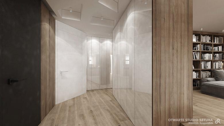 Wnętrza mieszkania w Warszawie. Projekt: OSS – Otwarte Studio Sztuka | Architektura Wnętrz Dominik Respondek