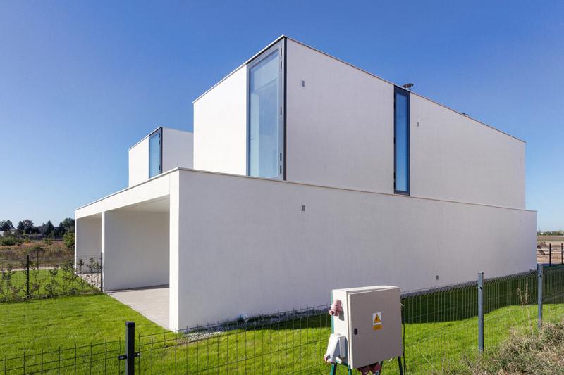 Dom Podwójny w Poznaniu. Projekt:Kluj Architekci. Zdjęcie: Norbert Banaszyk