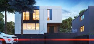 Przebudowa domu – kostki projektu biura KPA – Korbasiewicz Pracownia Architektury