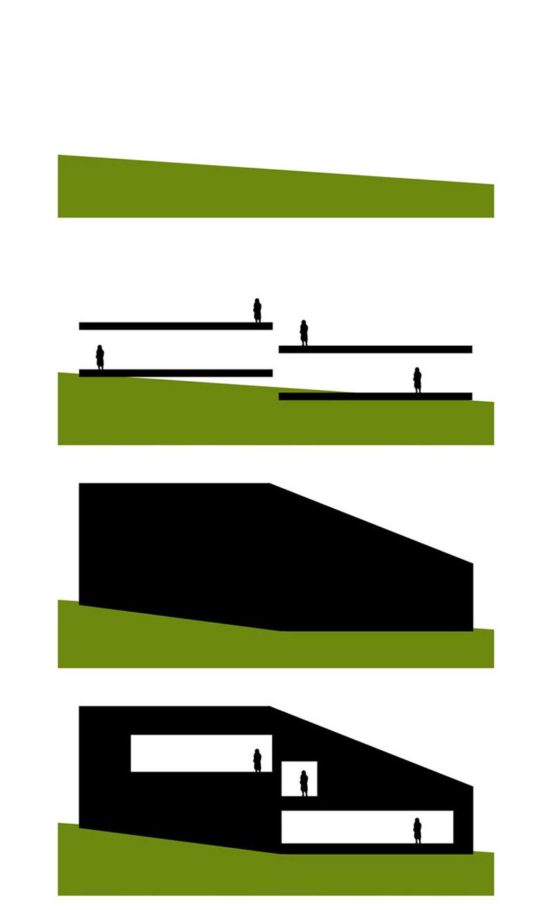"""Dom """"Czarna Skała"""" w Bielsku-Białej. Projekt:MUS ARCHITECTS"""