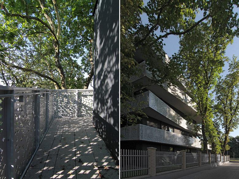 Górny Taras - budynek wielorodzinny w Poznaniu. Projekt: Neostudio Architekci