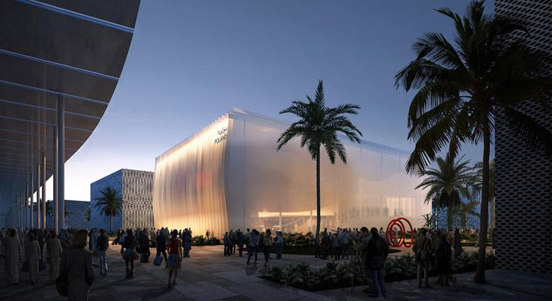 Pawilon Polski na Wystawę Światową EXPO 2020 w Dubaju – II Nagroda w konkursie