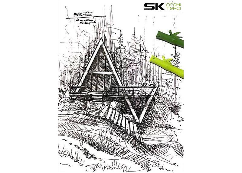 Zespół domków letniskowych BRDA. Projekt: SK-ARCHITEKCI | Arch. Karola Szkapiak