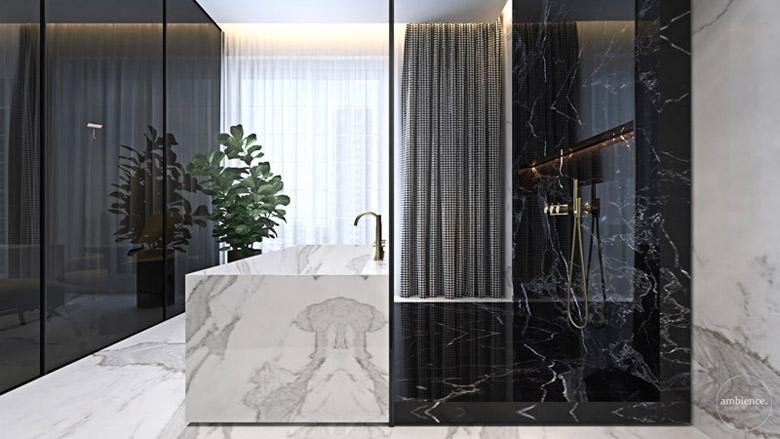 Apartament w Warszawie. Projekt wnętrz:Ambience. Interior Design