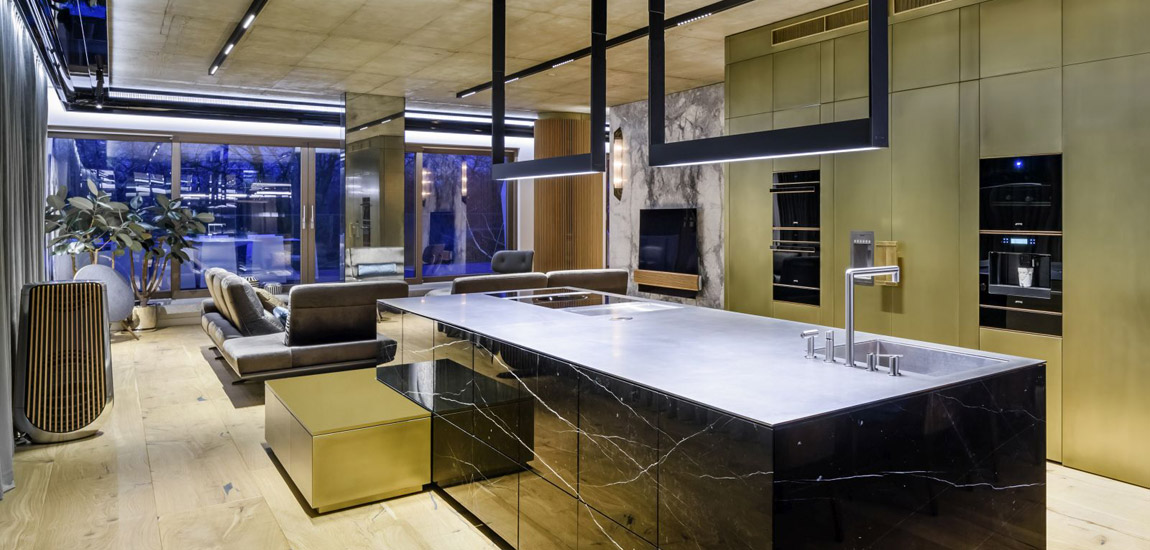 Apartament pokazowy na osiedlu Awangarda w Warszawie projektu Tarnowski Division
