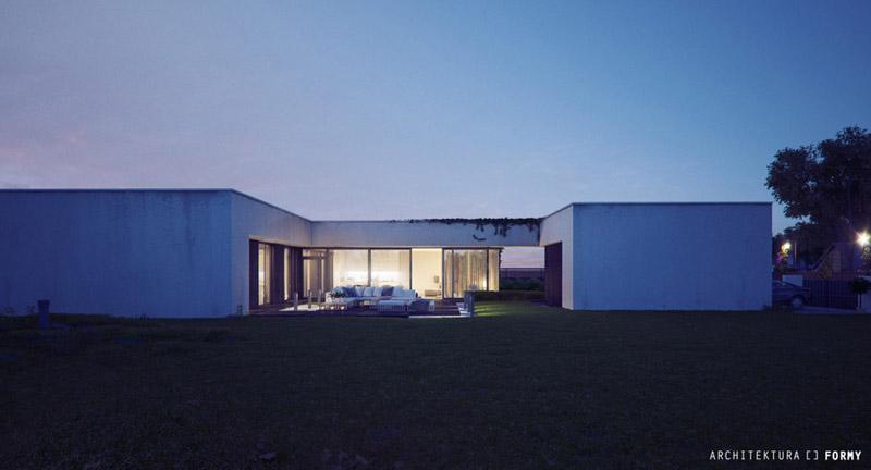 Dom Atrialny w Koluszkach. Projekt: Architektura Formy