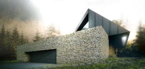 Spiral House – Dom pod Krakowem projektu Autograf Studio