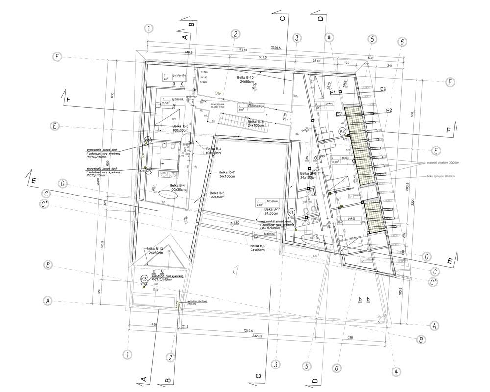 """Dom """"Spiral House"""", Wierzchowie (pod Krakowem). Projekt: Autograf Studio"""