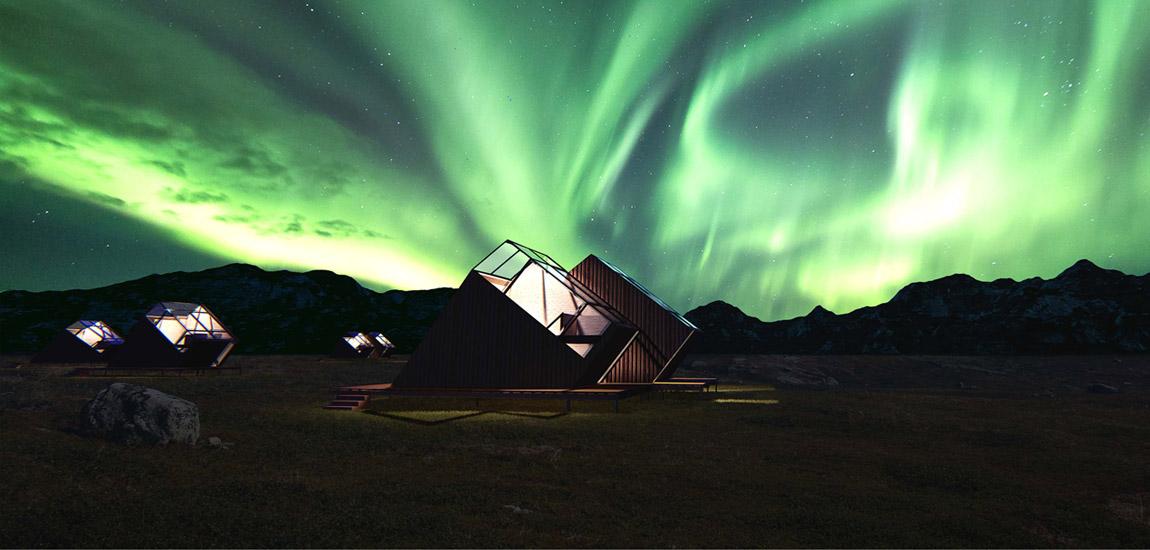 Dyplomy Architektury: Kabiny turystyczne na Islandii projektu Karoliny Motyki