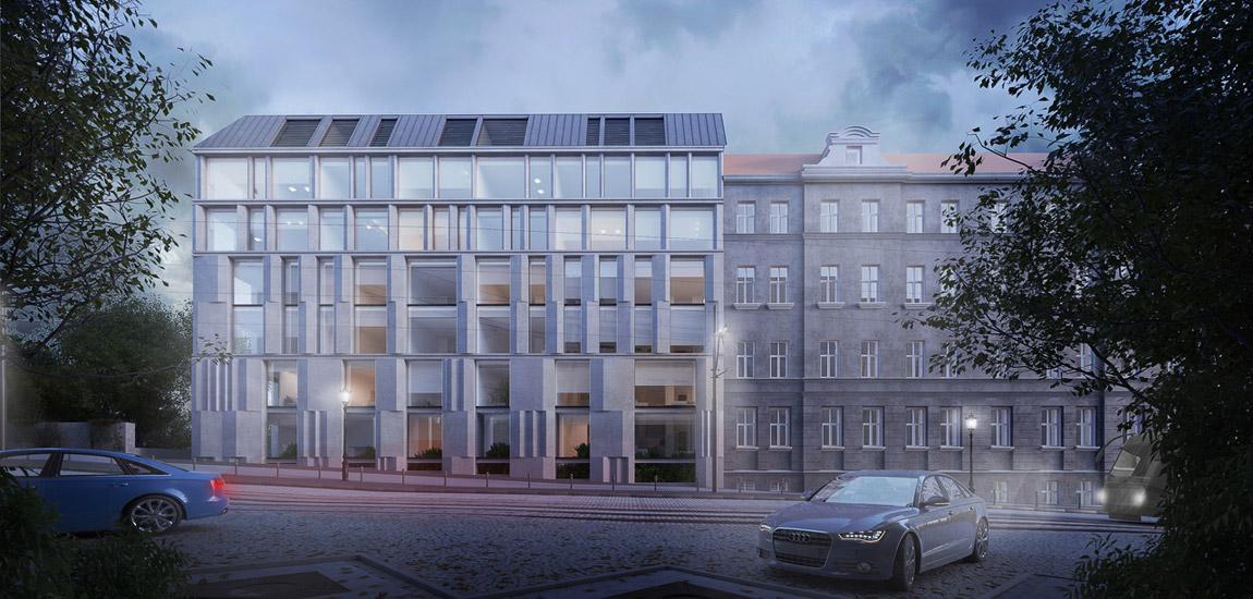Nowa Podgórna | Projekt kamienicy Poznaniu. Architektura:Easst.com