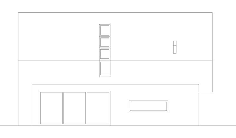 Mały dom z cegły w Kozłowie. Projekt:INOSTUDIO architekci