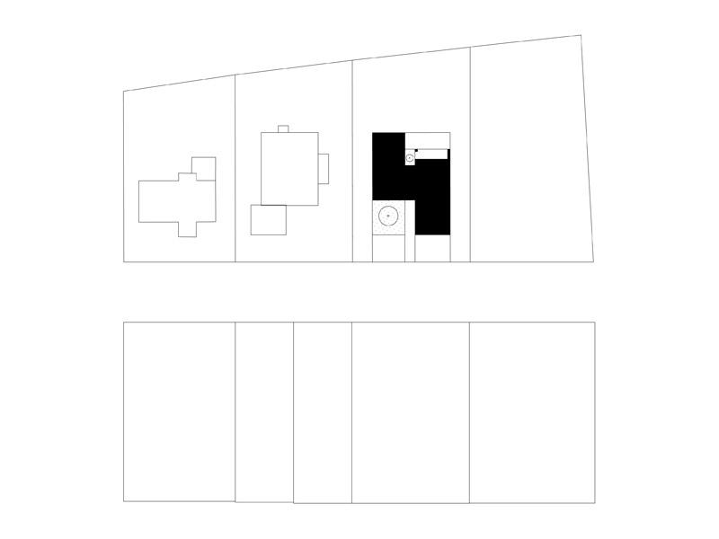 """Dom """"Dwie białe stodoły"""" w Gliwicach. Projekt:INOSTUDIO architekci"""
