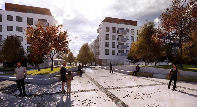Osiedle przy ulicy Hermanowskiej. I Nagroda w konkursie:S.A.M.I. Architekci