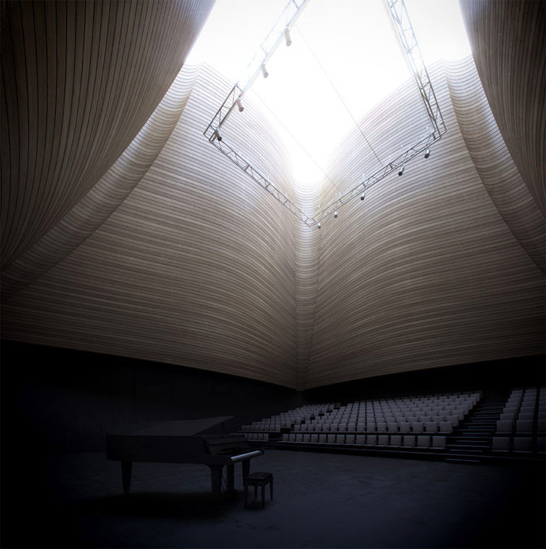 Centrum Muzyki w Krakowie. Wyróżnienie równorzędne w konkursie: WXCA