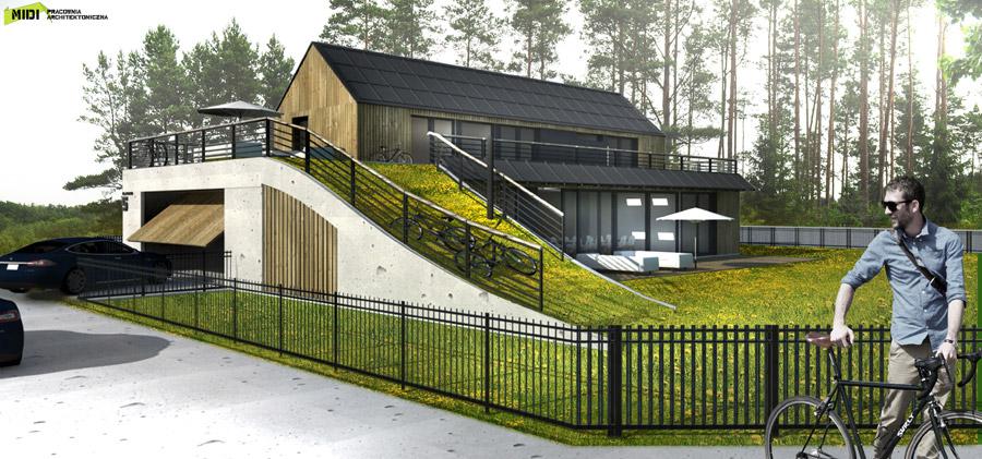 Dom wielkopolski. Projekt:MIDI Pracownia Architektoniczna