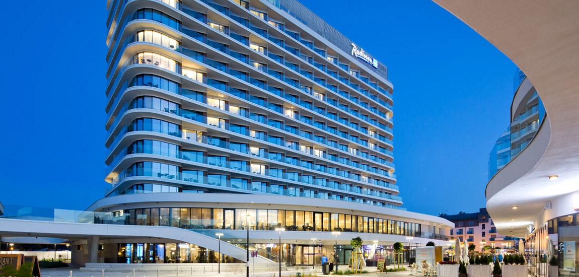 Hotel Baltic Park Molo w Świnoujściu pracowni Płaskowicki+Partnerzy Architekci