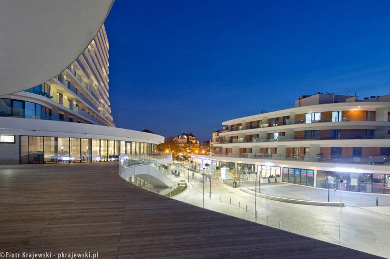 Hotel Baltic Park Molo w Świnoujściu. Projekt: Płaskowicki + Partnerzy Architekci. Zdjęcie: Piotr Krajewski