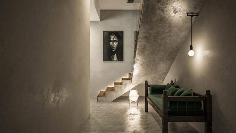 Świeże i zaskakujące wnętrza domu projektu biura TK Architekci