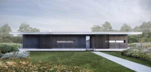 Dom nad ogrodem projektu biura ENDE Marcin Lewandowicz