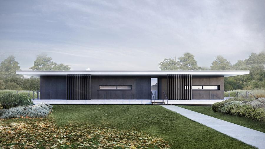 Dom nad ogrodem, Czerwonak. Projekt: ENDE | Marcin Lewandowicz