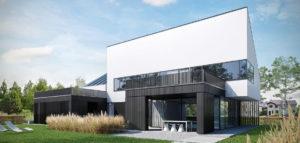 Dom w Poznaniu projektu biura ENDE Marcin Lewandowicz