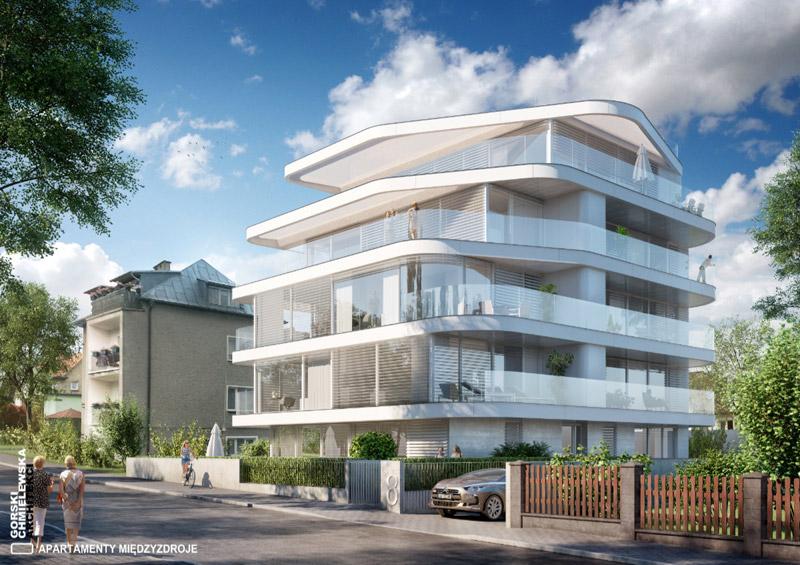 Apartamenty w Międzyzdrojach. Projekt: Górski Chmielewska Architekci
