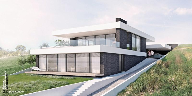 Dom w Kurowie. Projekt: Górski Chmielewska Architekci