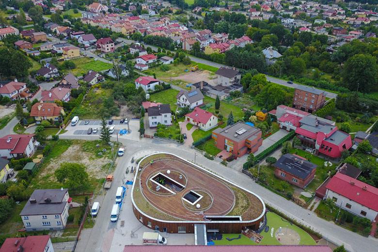 Przedszkole w Żorach. Architektura: toprojekt. Zdjęcie: Wojciech Bęczarski
