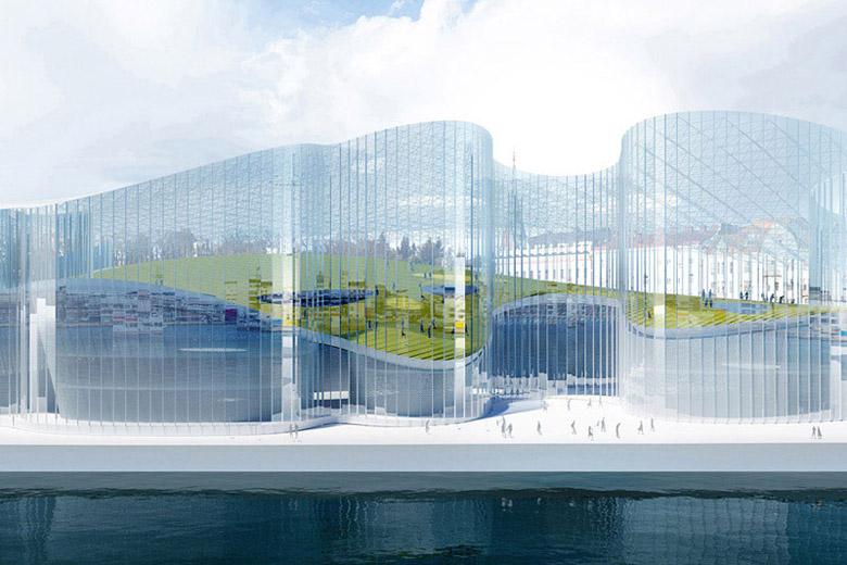 Muzeum Guggenheima w Helsinkach, koncepcja konkursowa. Autorzy: toprojekt