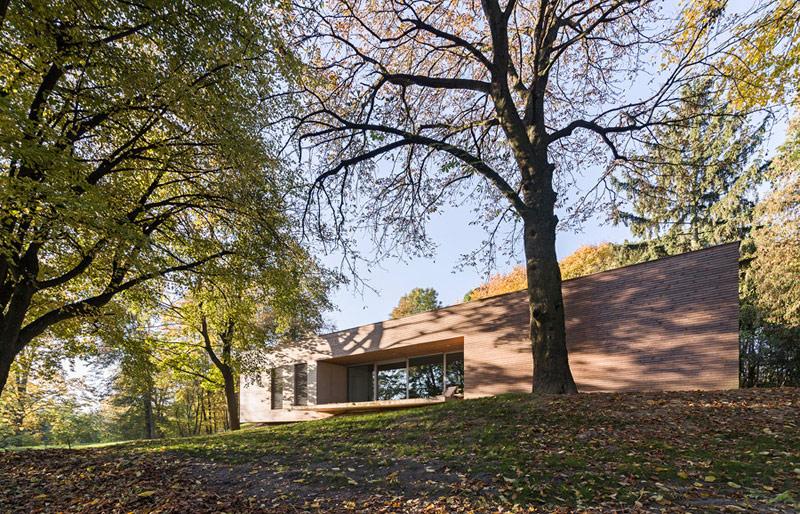 Dom w Lesie, Klementowice. Projekt: 081 Architekci. Zdjęcie: Rafaj Chojnacki