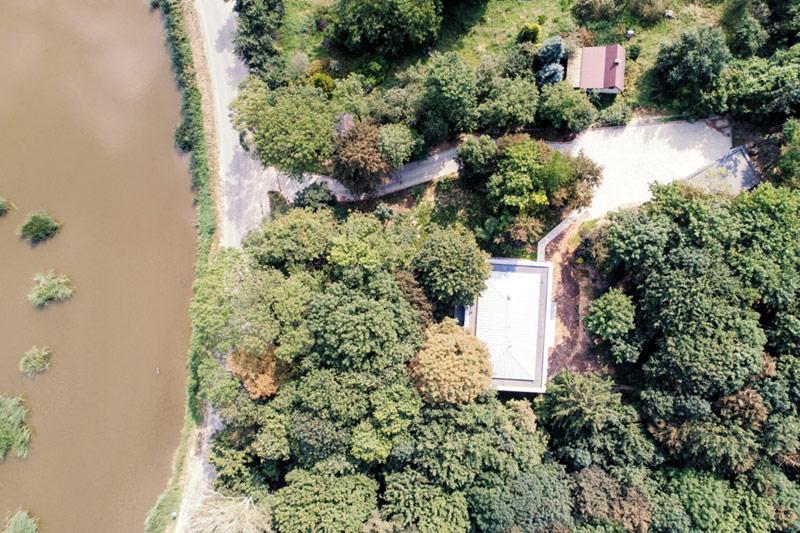 Dom w Lesie, Klementowice. Projekt: 081 Architekci. Zdjęcie: Piotr Krajewski