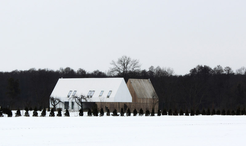 Dom jednorodzinny pod Kazimierzem. Projekt: Atelier Tektura