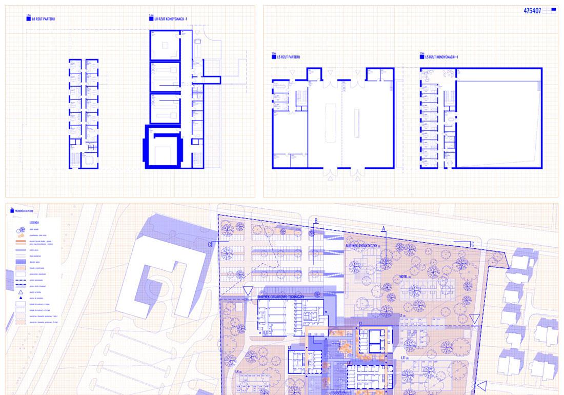 Świętokrzyski Kampus Laboratoryjny Głównego Urzędu Miar w Kielcach. I Nagroda w konkursie: BDM Architekci