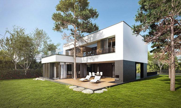 Dom w Radości. Projekt: GGP Architekci