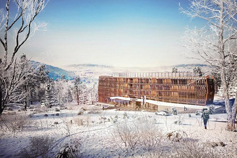 Forest Ski Hotel w Szklarskiej Porębie. Projekt: GGP Architekci, Grupa 5 Architekci