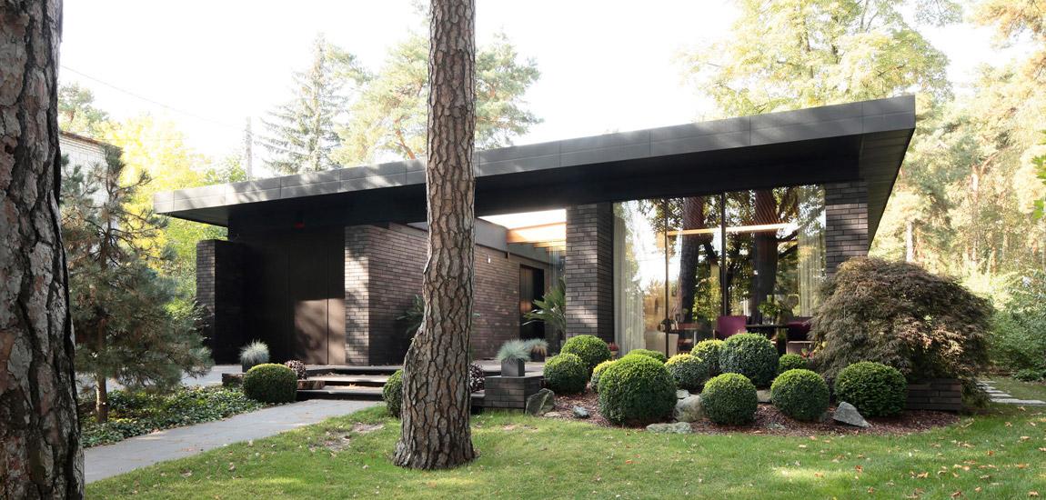 Dom w Milanówku. Projekt: GGP Architekci