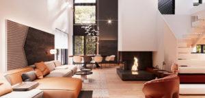 Wnętrza domu w Warszawie projektu Hi-Light Architects