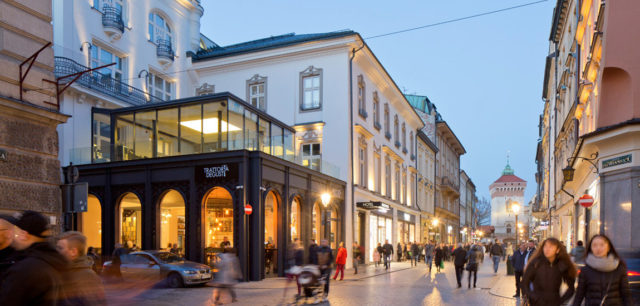 Hotel Unicus Palace w Krakowie projektu B2 Studio