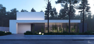 Dom na skraju lasu pracowni KONZEPT Architekci