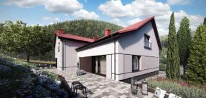 Przebudowa stuletniego domu w Górach Wałbrzyskich projektu biura KPA – Korbasiewicz Pracownia Architektury